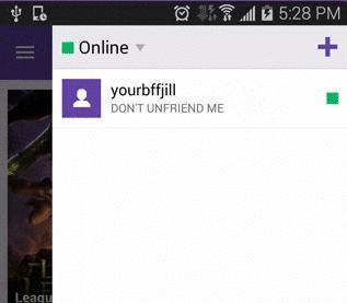 twitch friends list